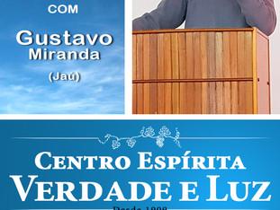 Palestra pública com Gustavo Miranda - Jaú - 03/10/2018.