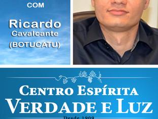 Neste Domingo, dia 12/11/2017 às 09 horas, Palestra Pública com Ricardo Cavalcante de Botucatu. Part
