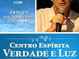 Palestra Pública com Jamiro dos Santos Filho. 18/01/2017