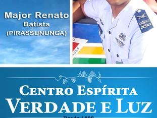 Neste Domingo !!!! Palestra com Major Renato Batista de Pirassununga.