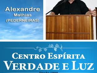 Palestra Pública com Alexandre Mathias - Pederneiras. 10/01/2018.