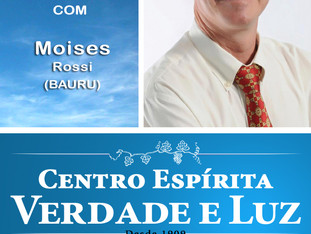 Palestra com Moises Rossi - Bauru Domingo 24-09-2017 às 9h. Participem!!