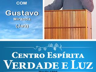Palestra Pública com Gustavo Miranda - 08/08/2018.