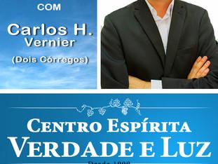 Palestra pública com Carlos H. Vernier - Dois Córregos - 21/10/2018