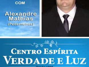 Palestra Pública com Alexandre Mathias - Pederneiras - 09/08/2017