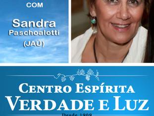 Palestra Pública com Sandra Paschoalotti. 17/12/2017. Domingo às 9 h. Participe !!