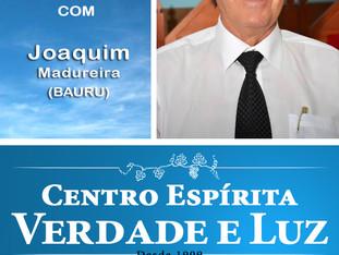 Palestra Pública com Joaquim Madureira. ( BAURU ) 12/04/2017