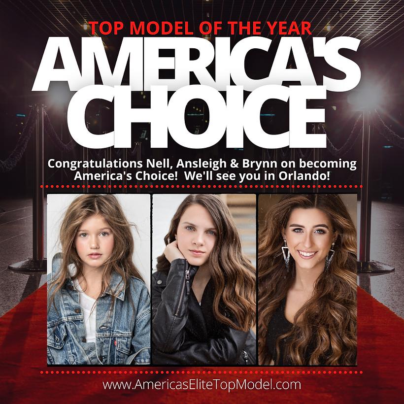 America's Elite Top Model - America's Choice