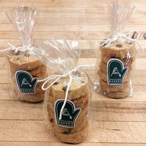 3 Salted Chocolate Chunk Cookies (18ea) Organic