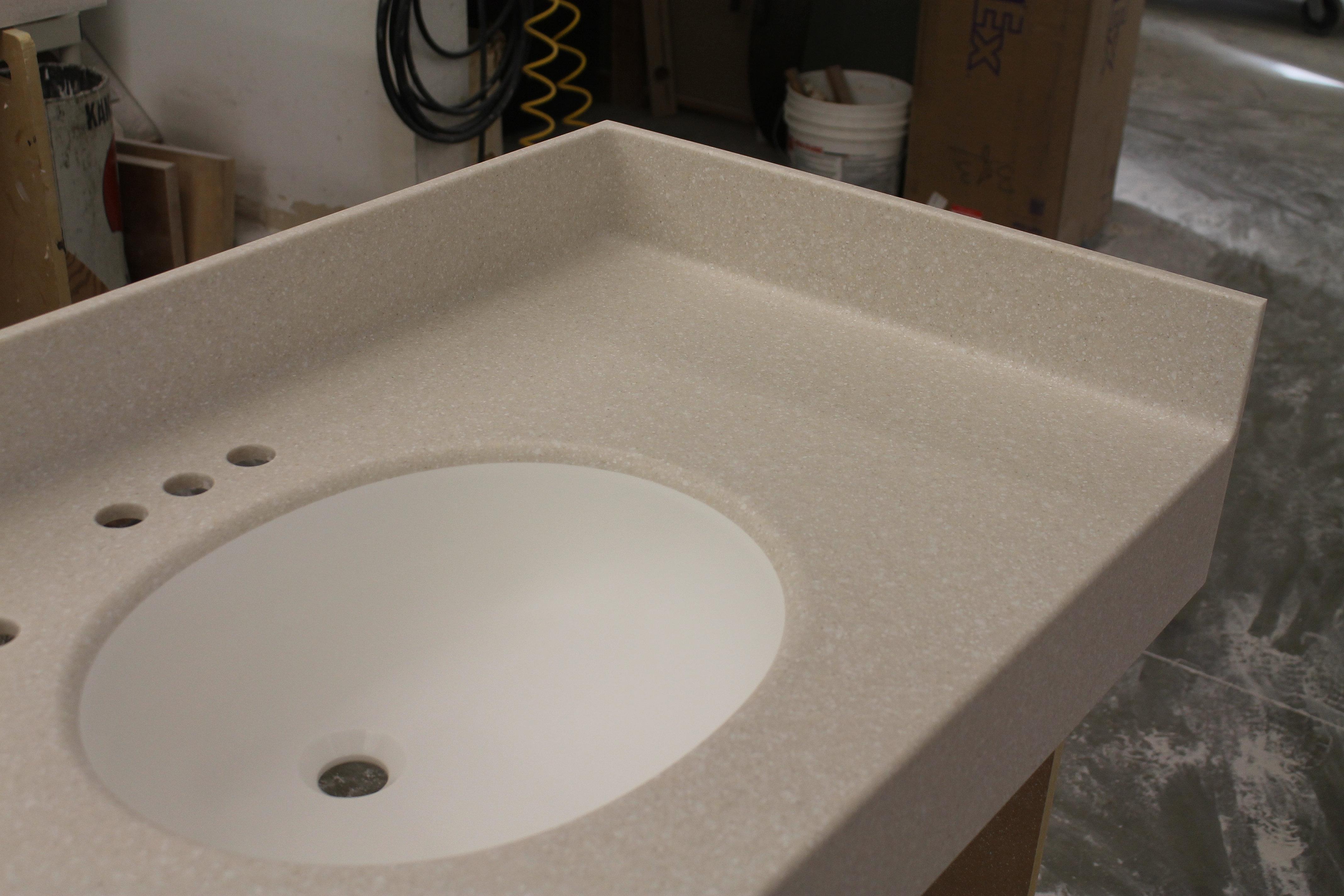 Bathroom Remodel Ideas Tile Bathroom Vanity Countertops With Sink Molded Sinks