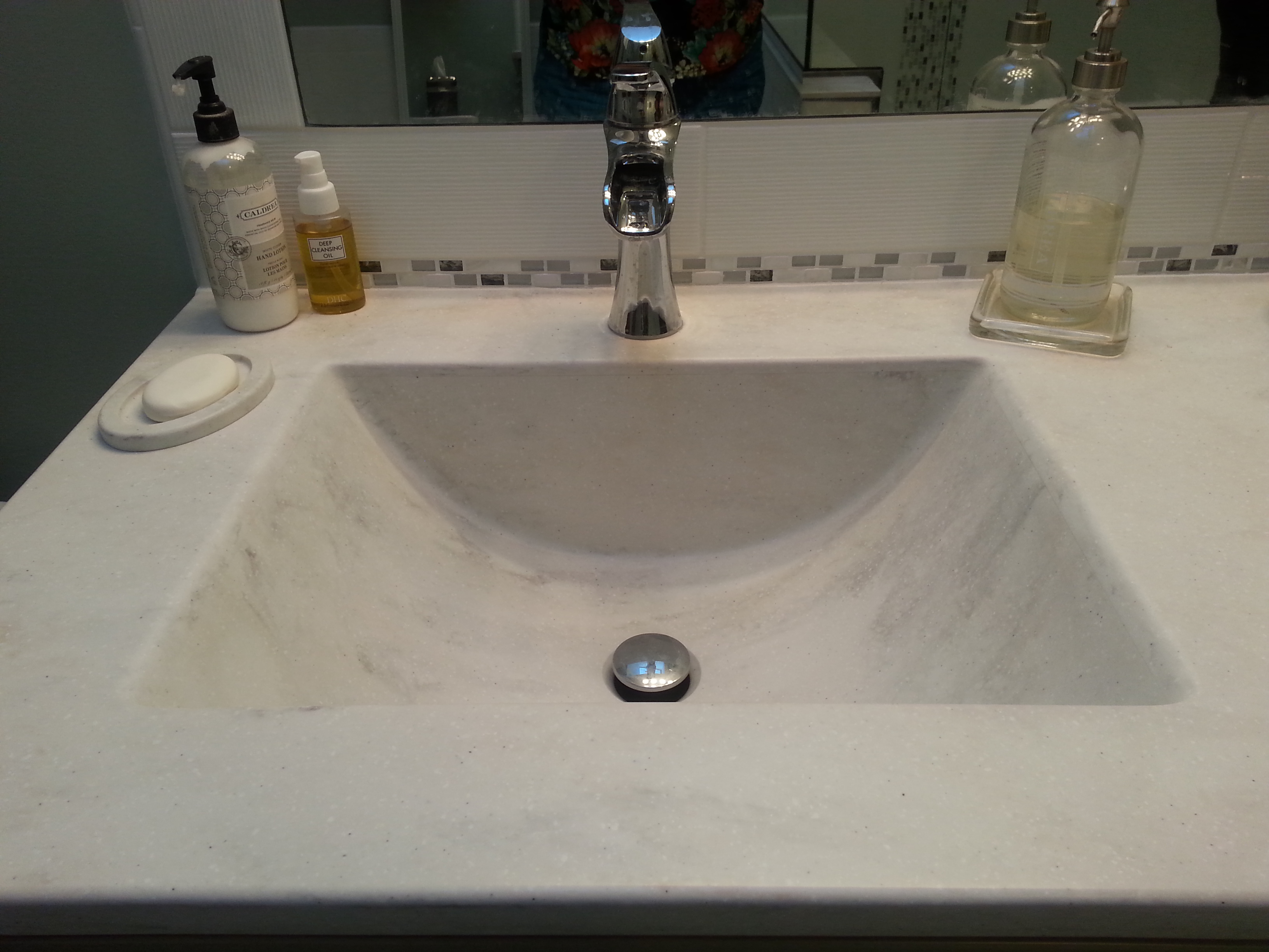 Another Beautiful Corian Vanity Top | Countertops by Starian