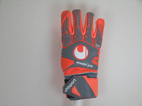 Uhlsport Aerored Absolutgrip Finger Surround Glove