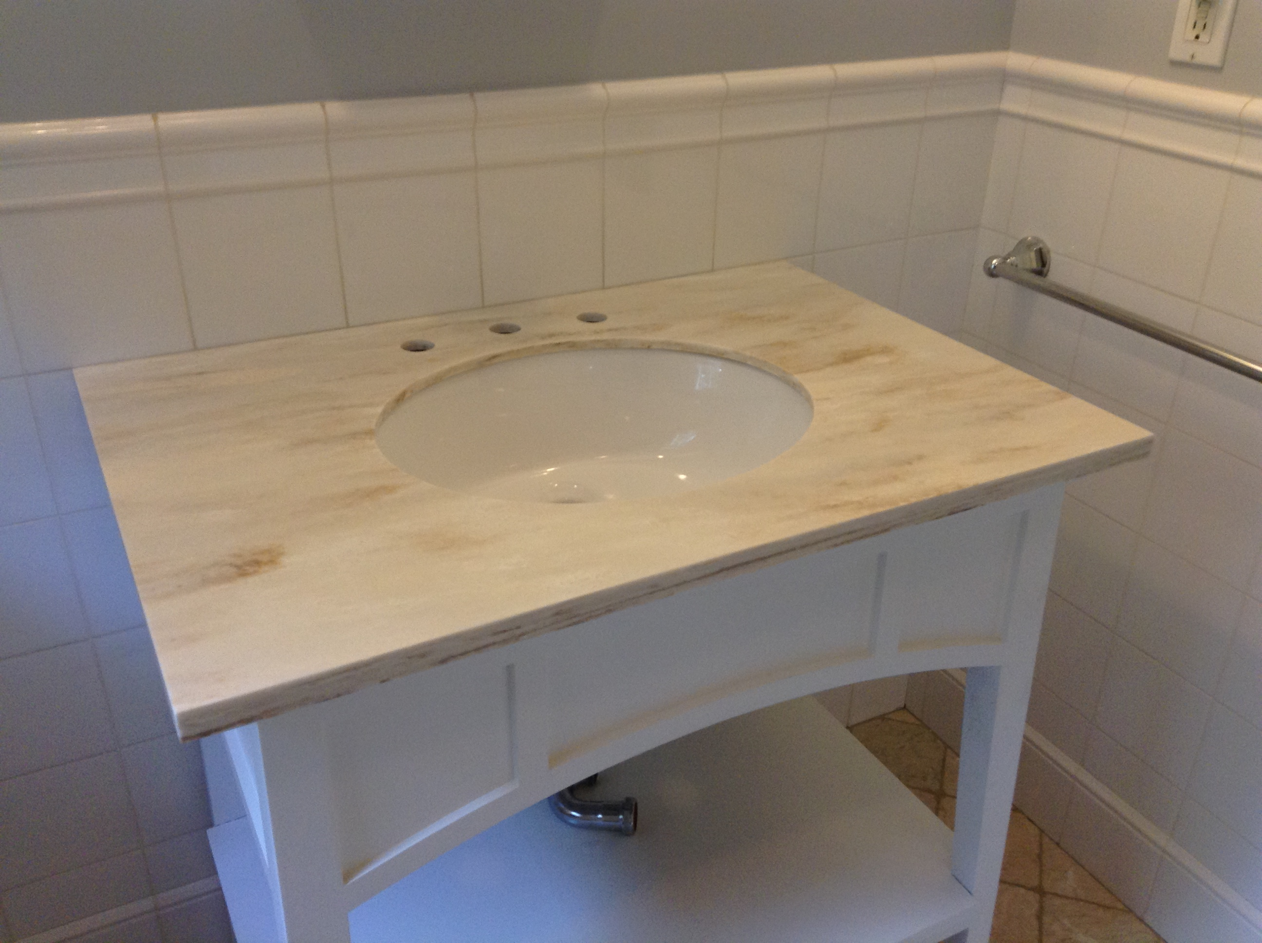 Corian Witch Hazel Replacement Countertops By Starian