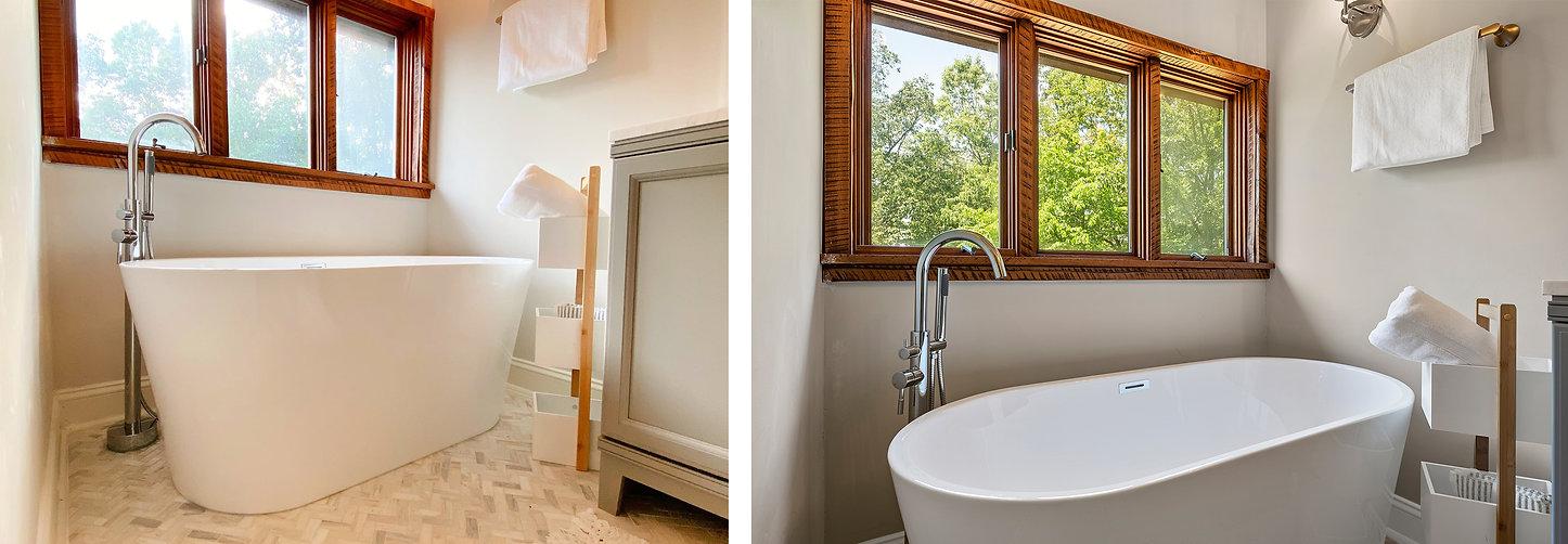 bath tub cabn windows mint photo
