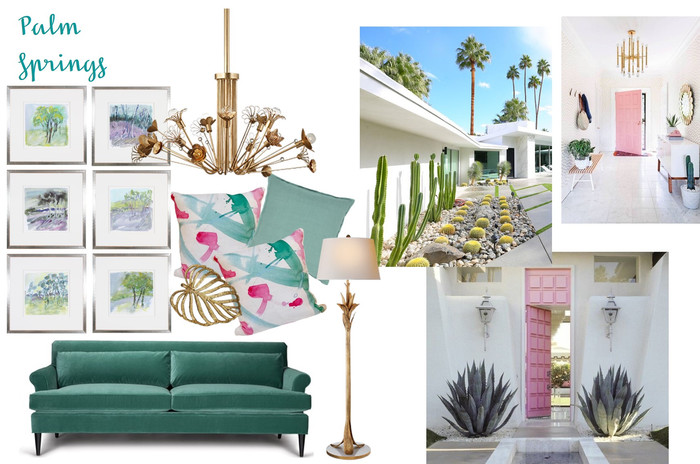 Vacation Inspired Interiors: Palm Springs