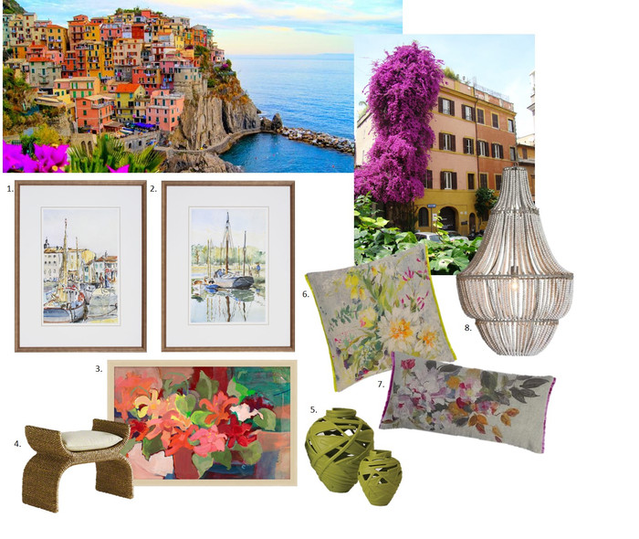 Vacation Inspired Interiors: Italy
