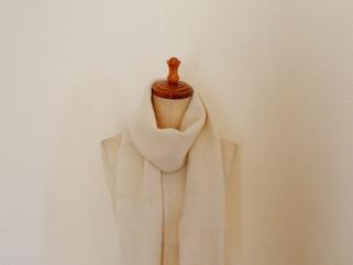 ローゼンゴン織 ウールマフラー