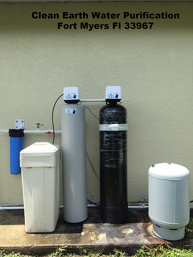 Water Softener and Iron Water Filter Fort Myers Florida