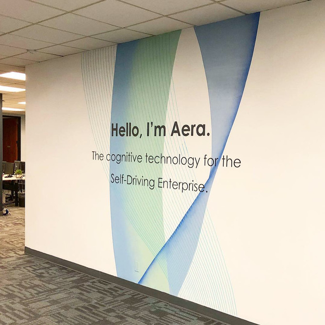 Aera Technology Gets New Sinage