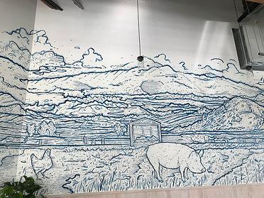 Belcampo San Mateo Mural