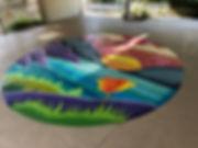 antioch Pool mural