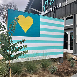 Amy's Drive Thru Sign Painting