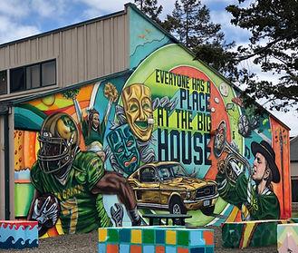 Big House Mural