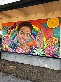 Petaluma Adult School Mural