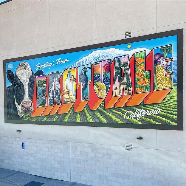 Postcard Mural- Eastvale