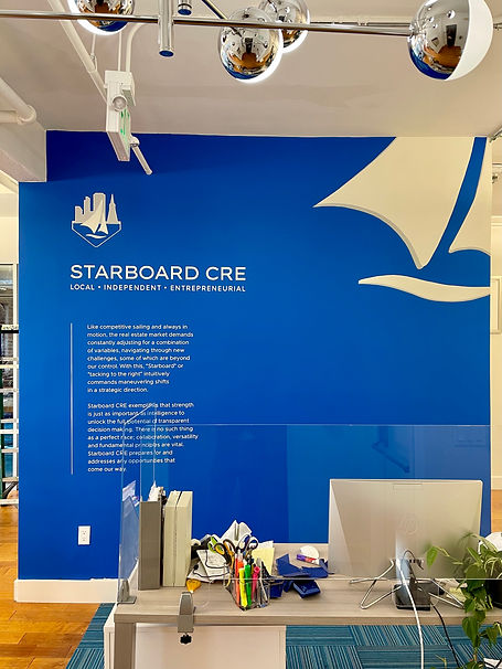 Office Sign Painting