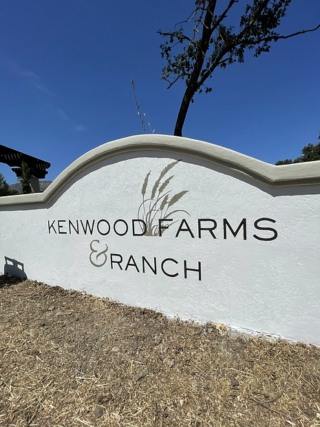 Kenwood Farms Sign Painting