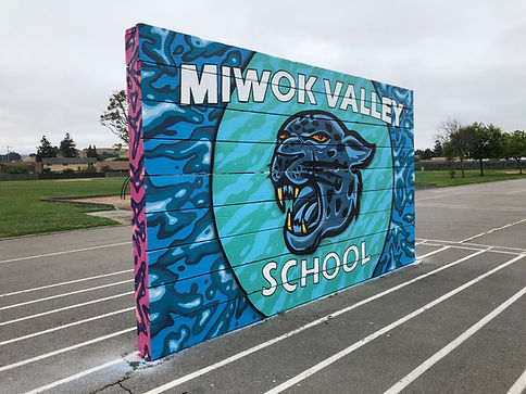 Miwok School Mural Two