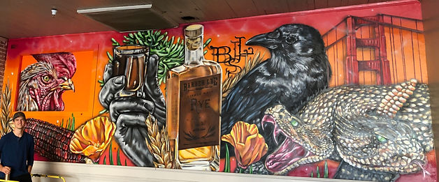 Barber Lee Spirits Mural