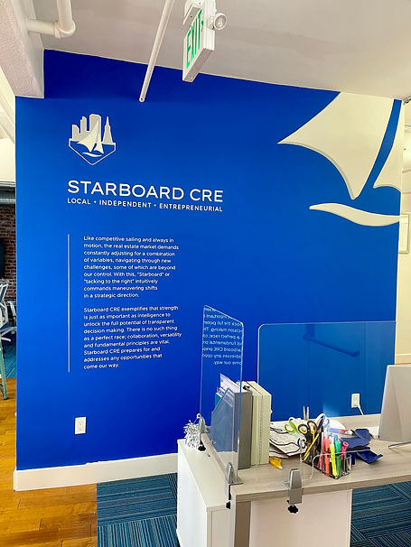 Starboard Sign Painting