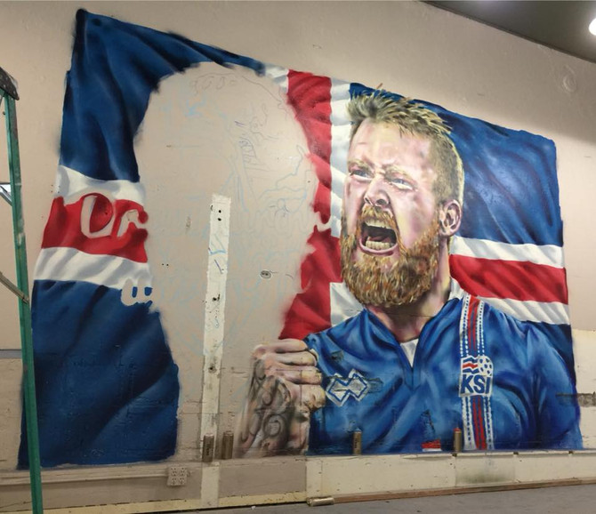 Iceland comes to San Francisco with this new mural!