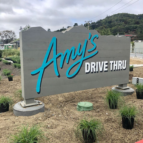 Amys sign painting