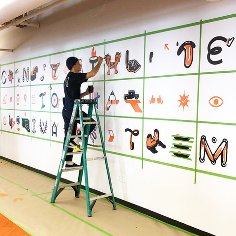 Our Mural Process