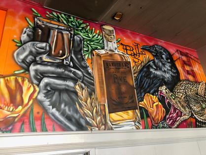 Barber Lee Spirits Mural