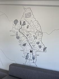 Napa Map Mural