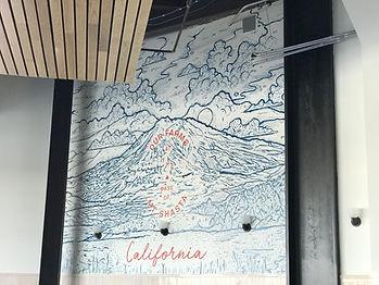 Belcampo San Mateo Mural painting