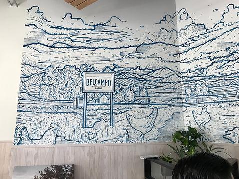 Belcampo Farm Mural
