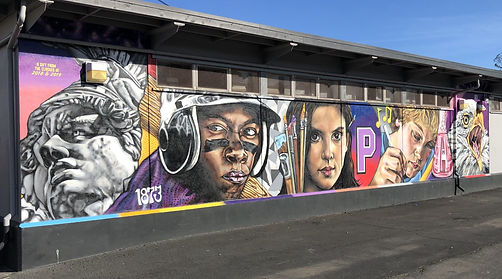 Petaluma High School Mural