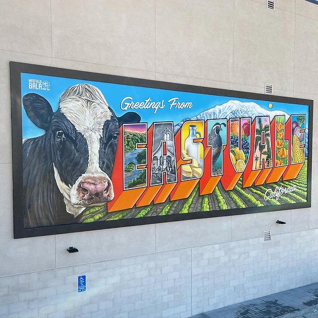 Greetings from Eastvale Mural