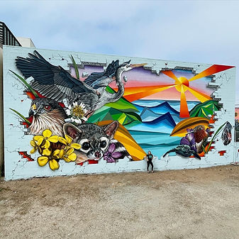 Large Scale Mural Painting