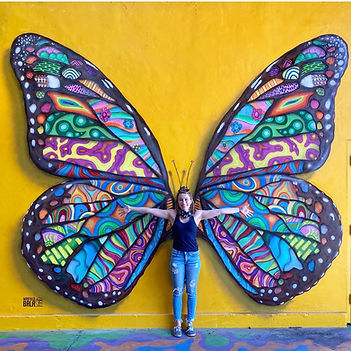 Butterfly Wings Mural