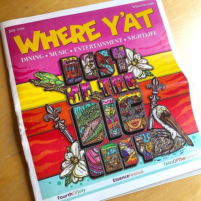 Where Y'At Magazine