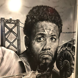 Karim Mayfield Mural