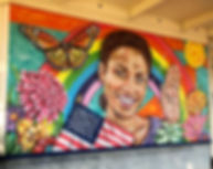 Santa Rosa Mural Project- Maxfield Bala.