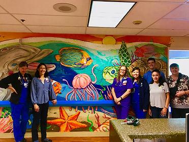 Hospital Mural Painting