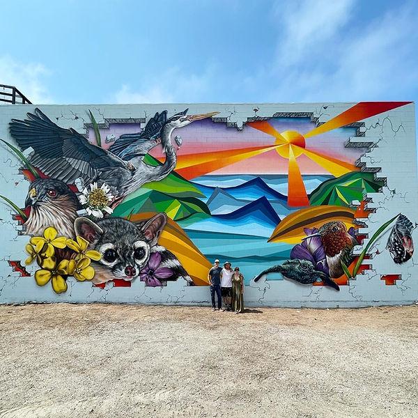 Massive Mural